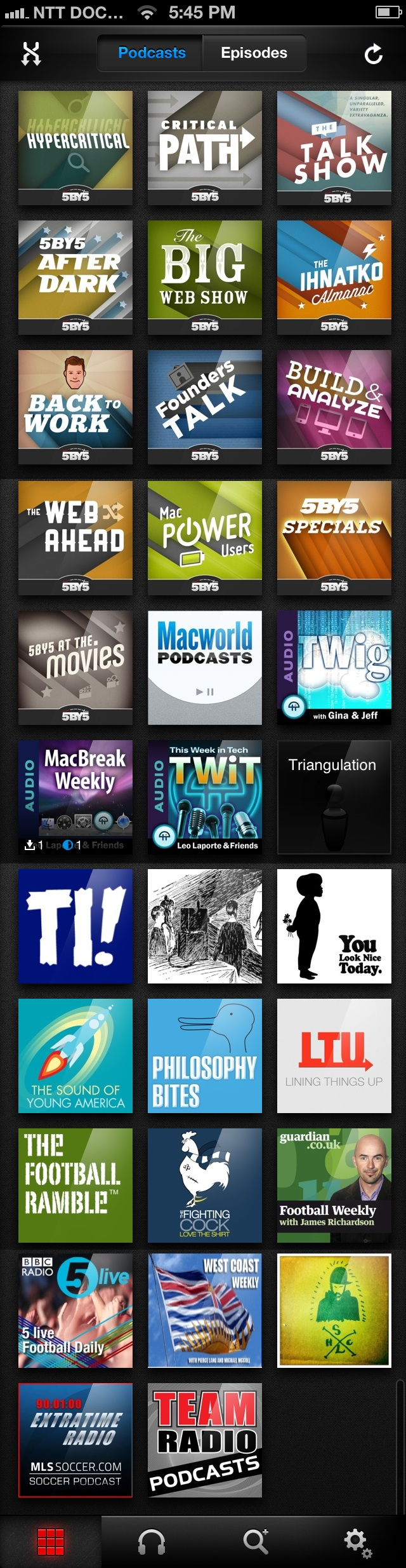 podcasts 2012