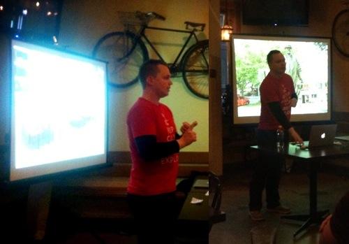 Me presenting at OKDG