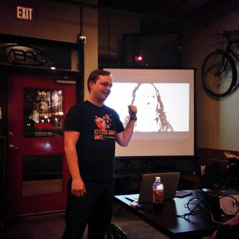 Me and Stallman at OKDG