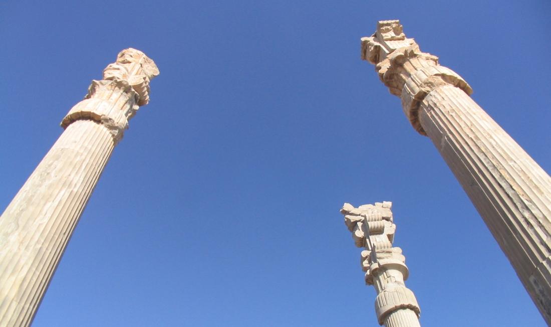 Columns at Persepolis