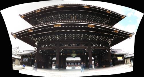 Main gate of Higashi Hongan-ji