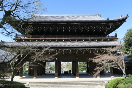 Sanmon gate at Chion-in