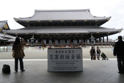 The main hall of Higashi Hongan-ji
