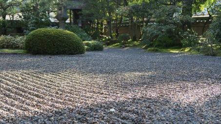 Rock garden at Shunkō-in