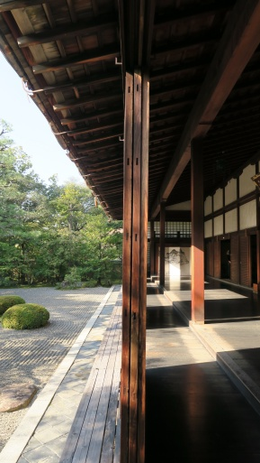 The garden viewing area at Shunkō-in