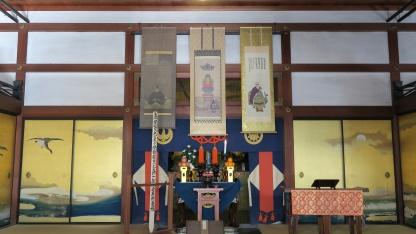 Main prayer hall of Shunkō-in