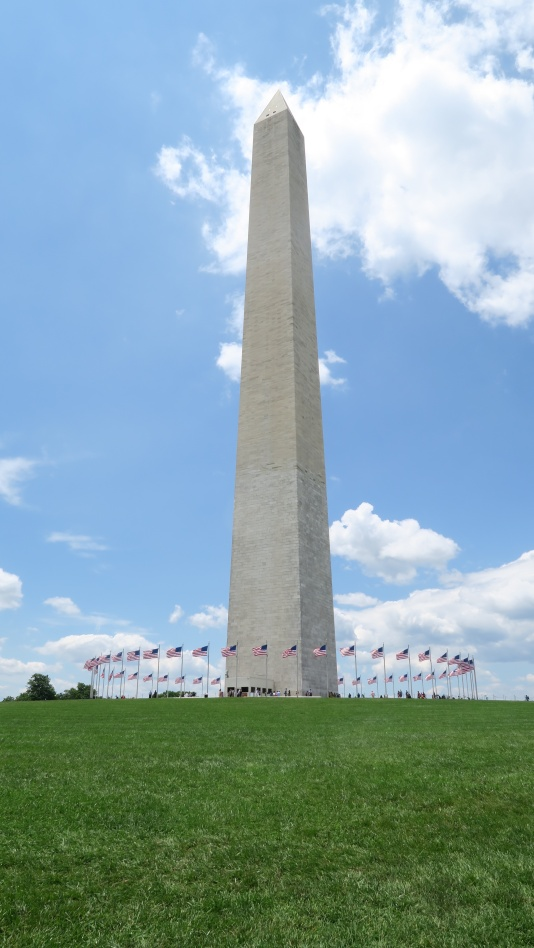 The Washington Monument is YUGE!