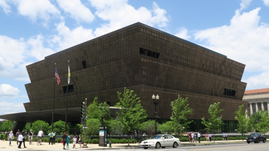 Smithsonian National Museum of African American History & Culture has great architecture