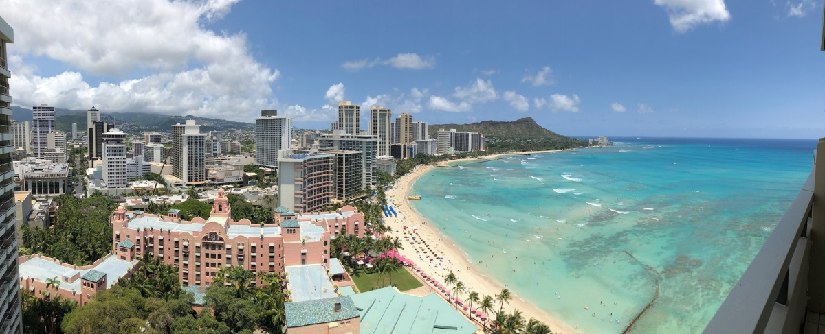 waikiki during the day