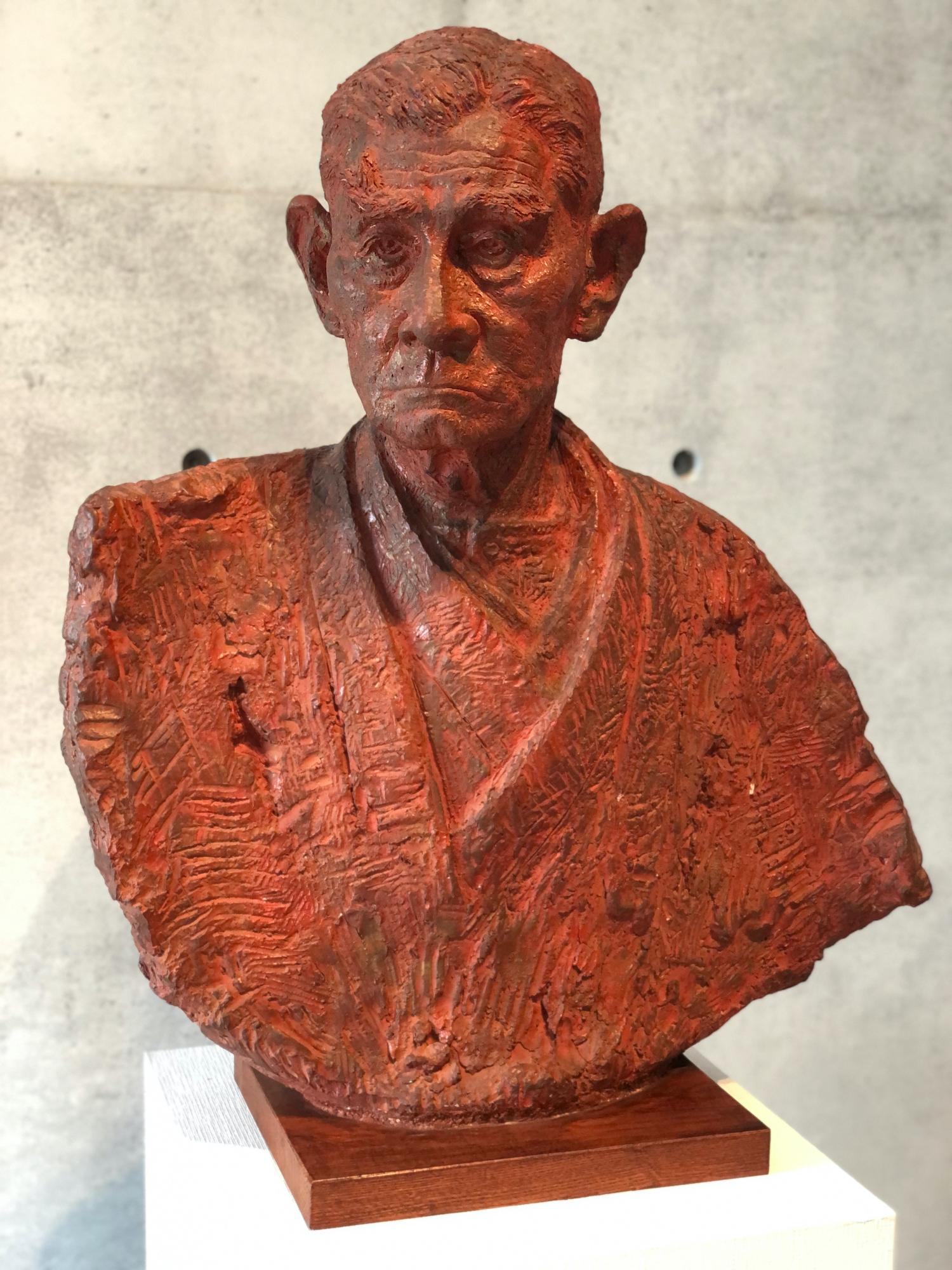 bust of Matsunaga Yasuzaemon